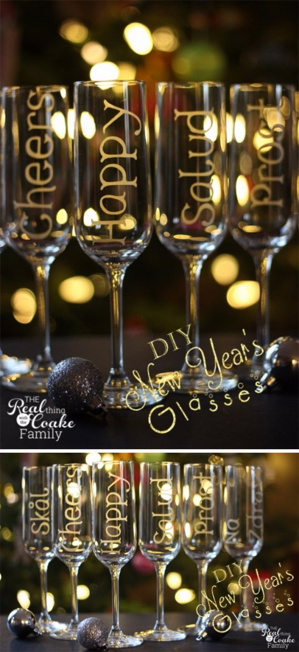 21 Personalized Champagne Glasses