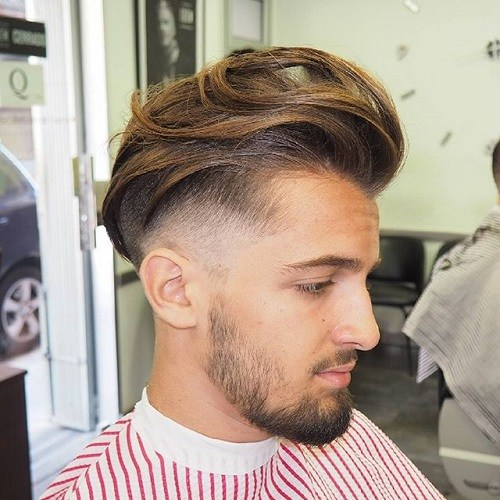 21 long top short sides mens hairstyle