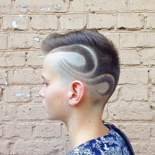 23 shaved designs haircuts for guys