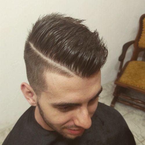 26 undercut shaved style