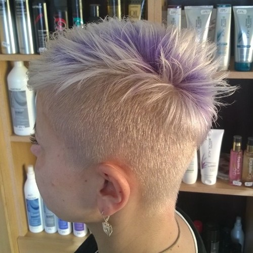 26 womens platinum blonde undercut hairstyle