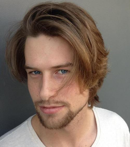 3 medium tousled hairstyle for men