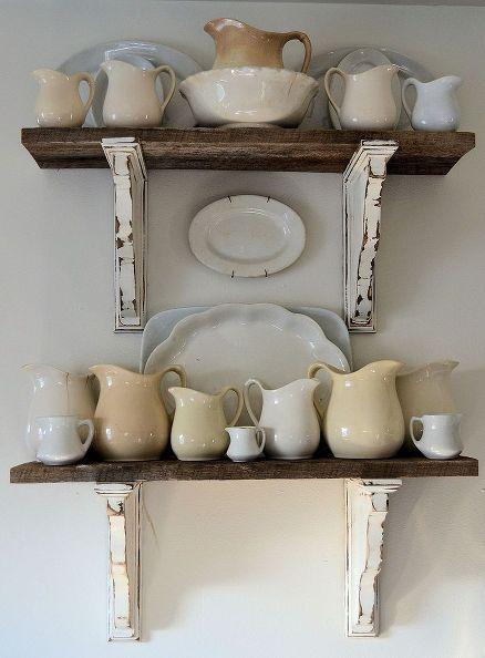 32 Barn Wood Shelves