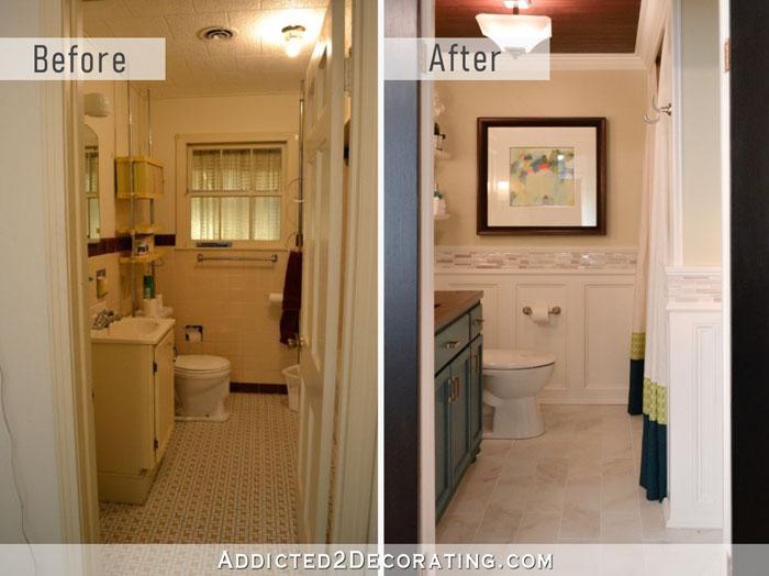 32 Hallway Bathroom Remodel Before After