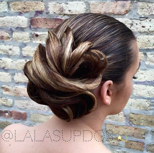 45 Pretty Ideas For Casual And Formal Bun Hairstyles Page