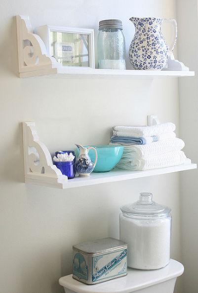 35 Vintage Inspired DIY Shelves