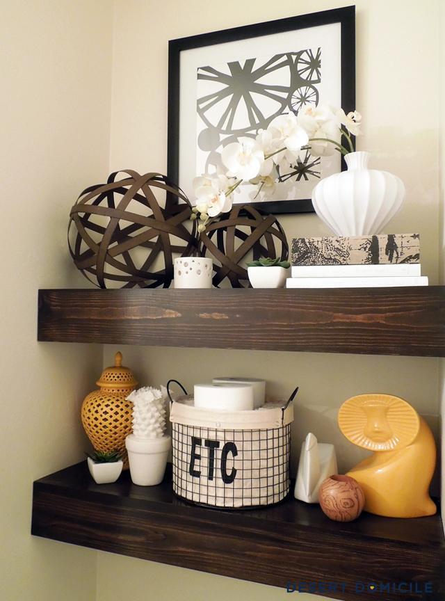 37 Chunky Wooden Floating Shelves