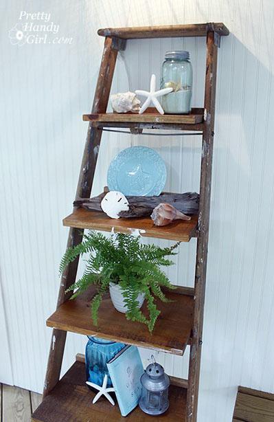 38 Ladder Display Shelves