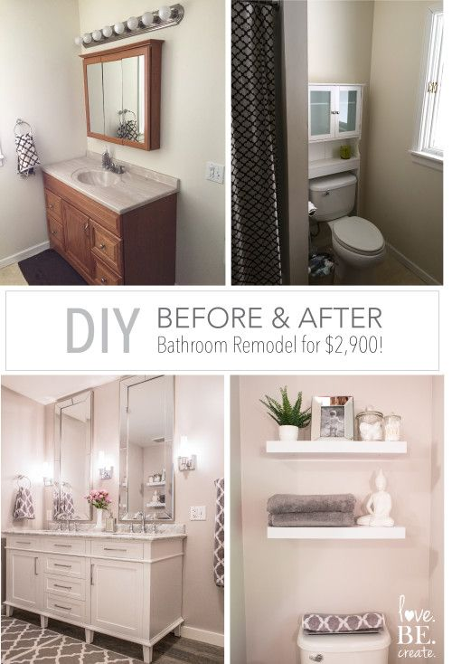38 before and after modern farmhouse bathroom renovation