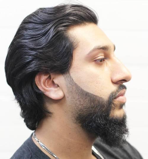 4 medium mens hairstyle with beard