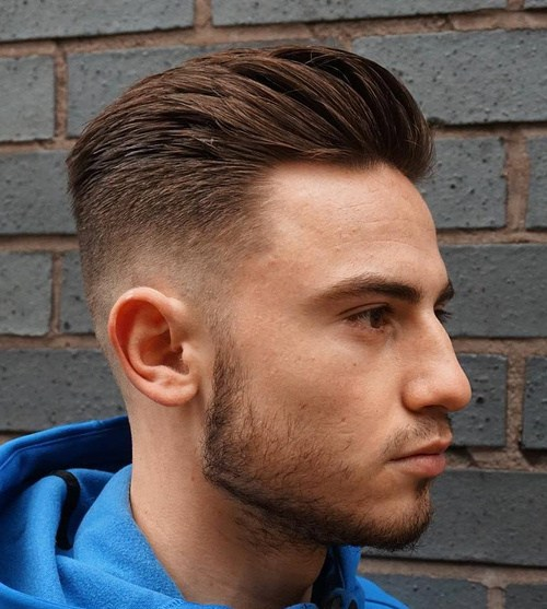 Hair man shaved style