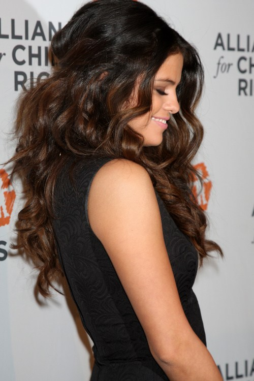 4 super voluminous waves with ombre