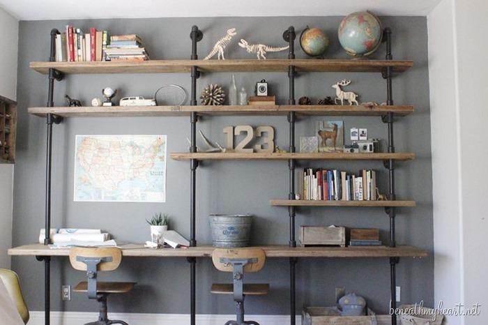 40 Industrial Shelves