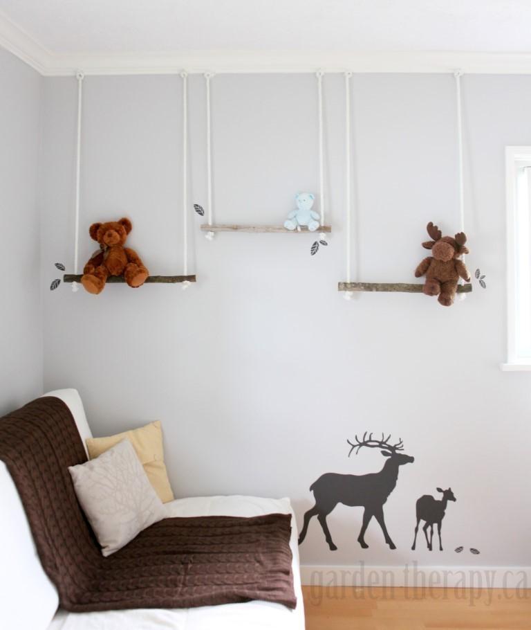 42 Branch Swing Shelves
