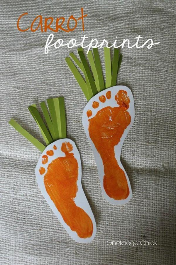 43 Carrot Footprints