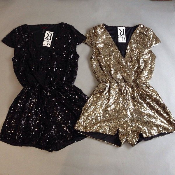 43 Sparkly Sequin Rompers