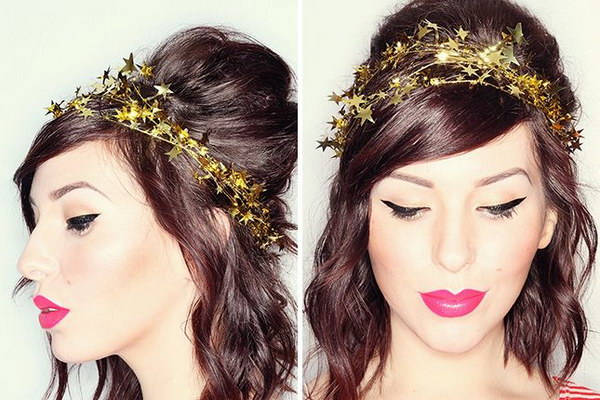 44 DIY Star Garland Crown