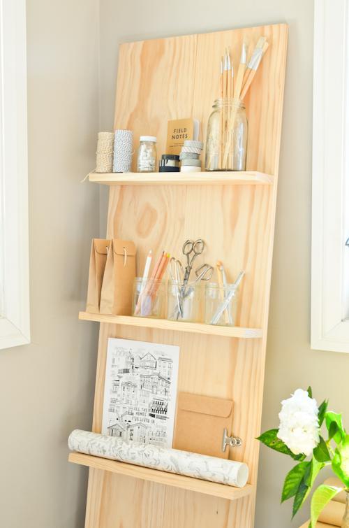 46 Simple Wood Bathroom Shelf