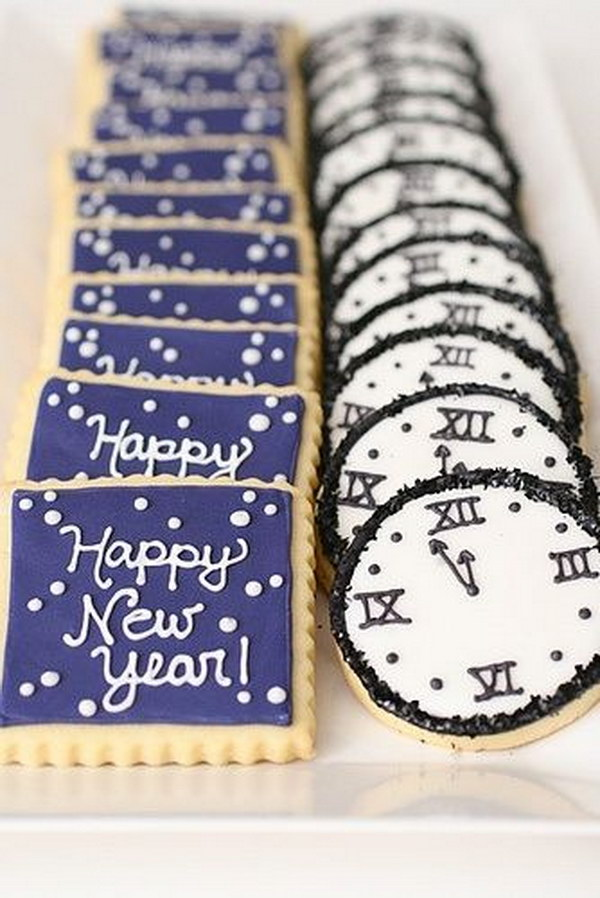 49 New Years Eve Cookies