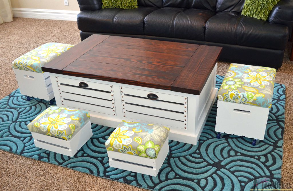 5 DIY Wooden Crate Furniture Ideas