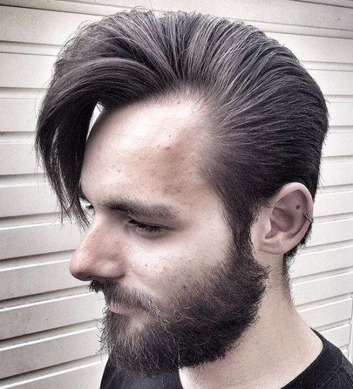 6 medium hairstyle for receding hairline