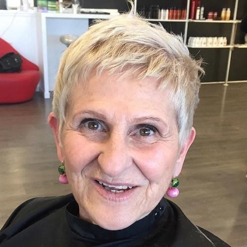 6 short blonde do for women over 70