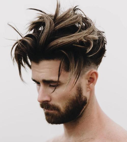 40 Statement Medium Hairstyles for Men – Page 7 – Foliver blog