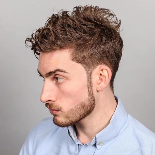 9 taper for wavy hair
