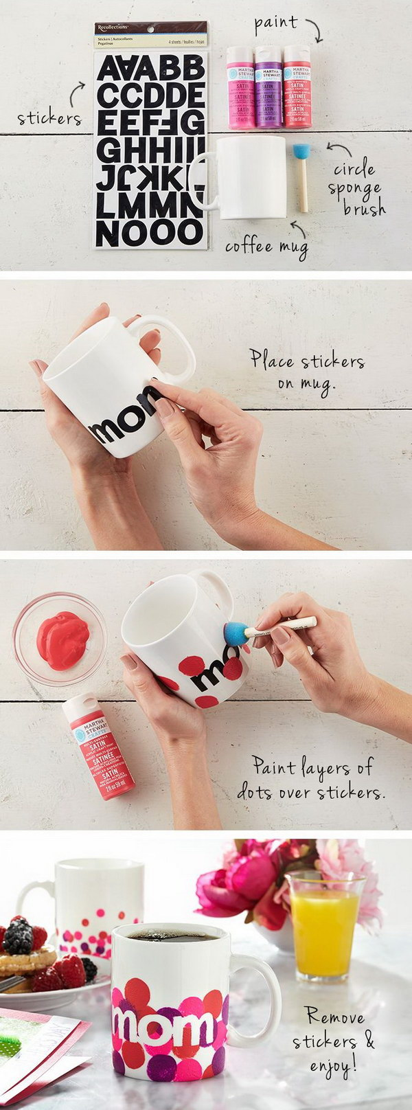 1 DIY Personalized Mugs