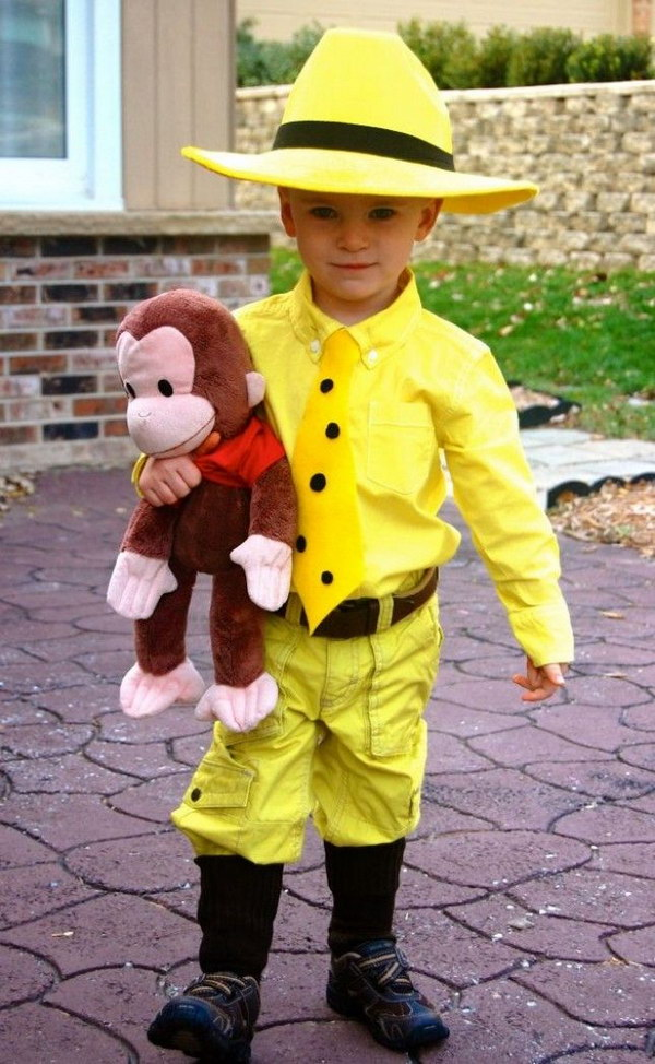 10 Curious George Kids Costum