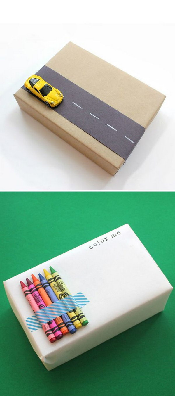 10 Cute and Creative Toy Gift Wrap
