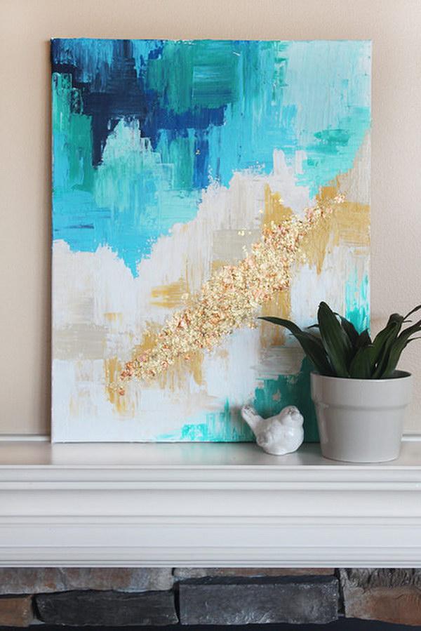 10 Easy DIY Abstract Art