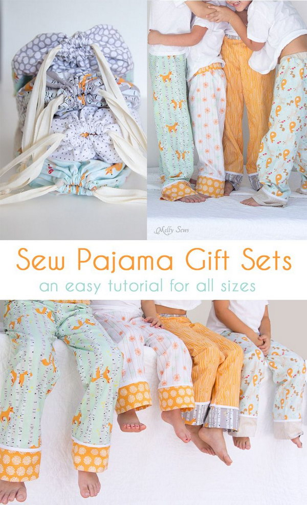 11 Sew Pajama Pants with Tutorial and Pattern
