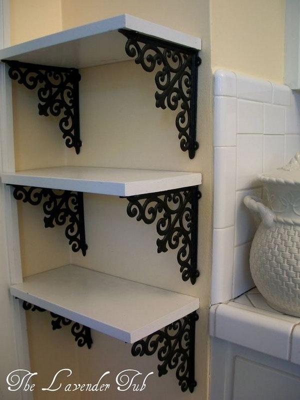 13 DIY Elegant Shelves for Display