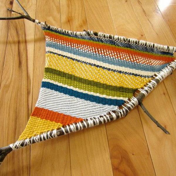 13 Fun Twig Weaving Craft