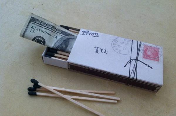 14 Money in a Matchbox