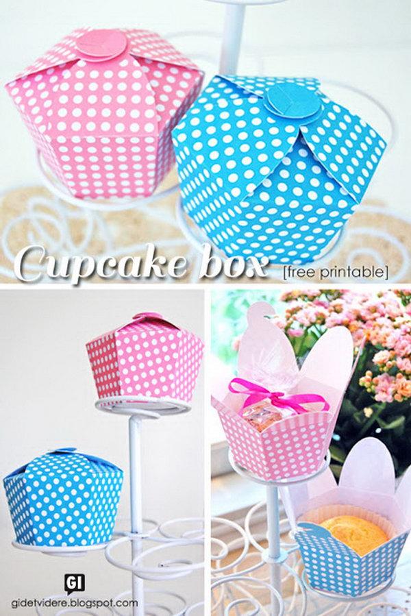 15 Cupcake Gift Box