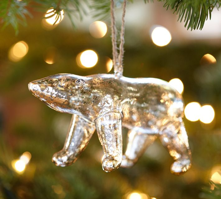 15 DIY Mercury Glass Style Ornament from a Plastic Toy
