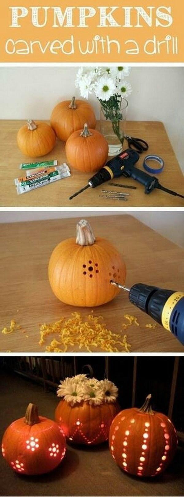 15 DIY Pumpkin Lantern