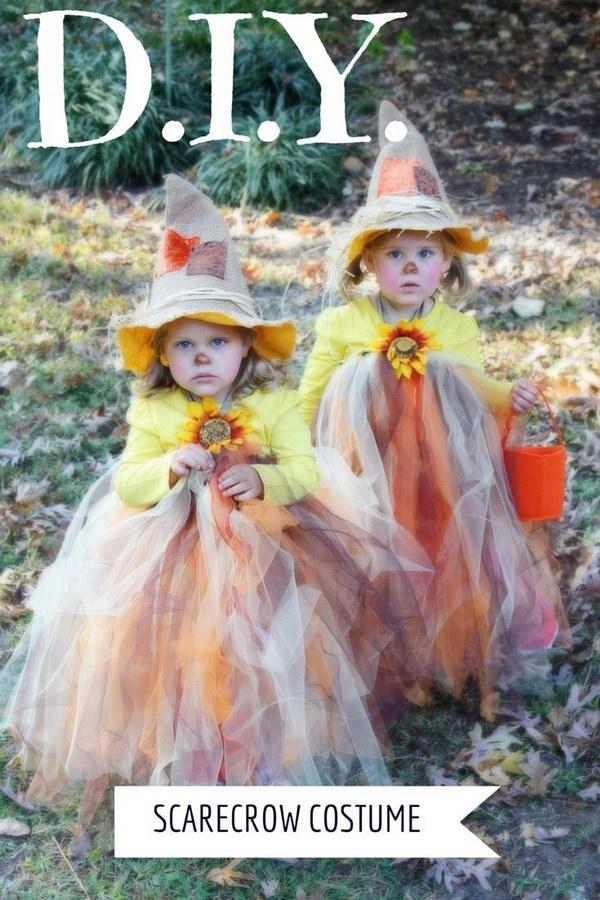 15  Scarecrow Tutu Halloween Costume