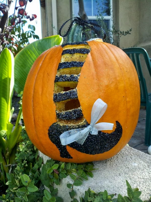 15 Witchy Carved Pumpkin