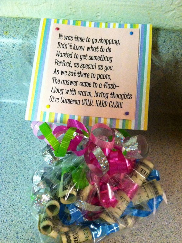 21 Money Bag with a Poem for Teens