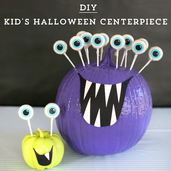 22 DIY Kids Halloween Centerpiece