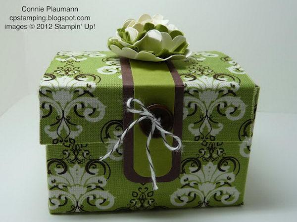 22 Fabric Treasure Gift Box
