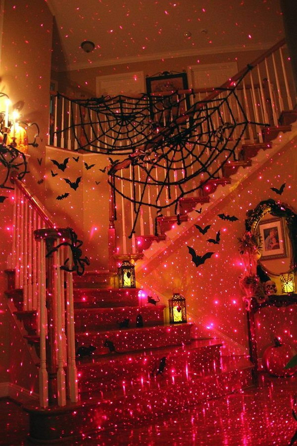 27 Awesome Laser Halloween Decor