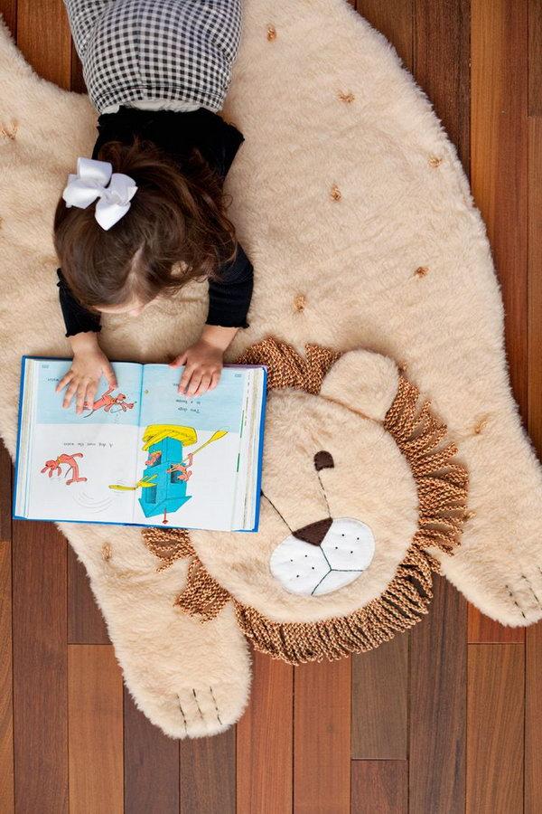 5 DIY Plush Lion Mat
