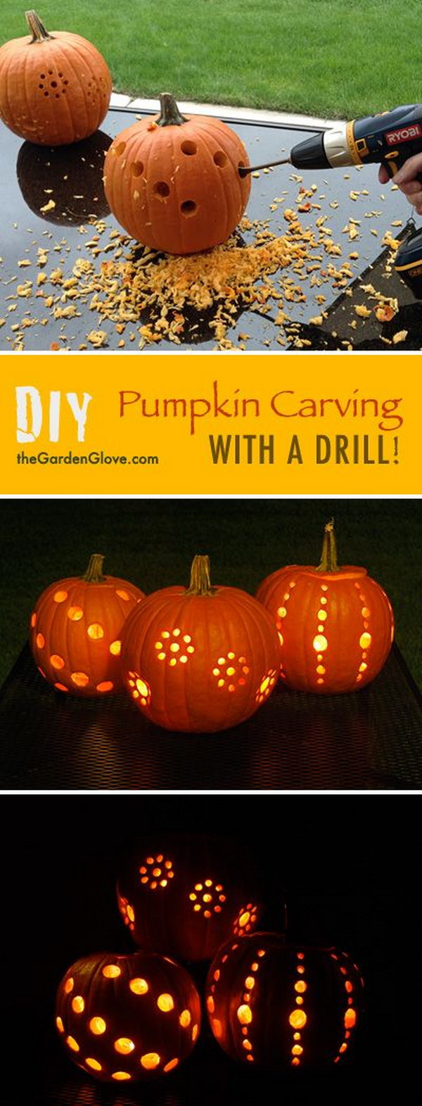 5 DIY Pumpkin Lantern