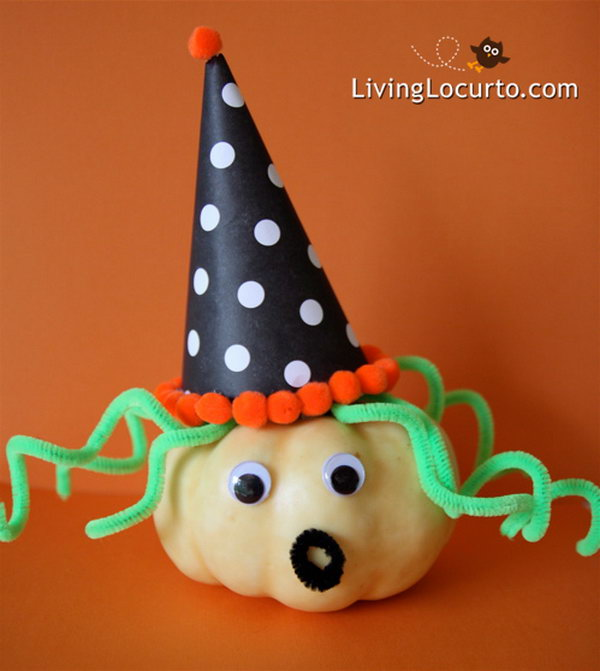 5 Easy to Make Pumpkin Witch