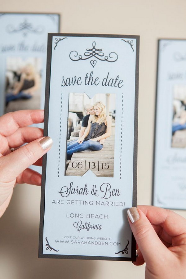 6 DIY Magnet Save the Date Invitations with Free Printables