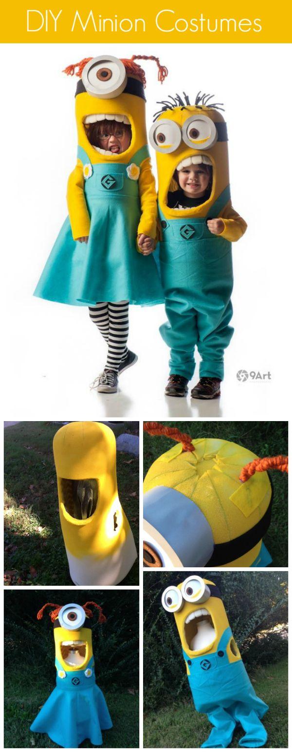 6 Handmade Minion Costumes